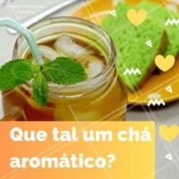 Ok, não está mais tão frio, mas um chá sempre cai bem, né? Então vem desacelerar aqui no nosso cantinho e saborear o verdadeiro chá aromático. 😍  #cha #chaaromatico #ahazou #delicia #vempraca