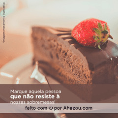 Quem gosta de doce fica louco com tanta opção. 😏🍰🍮  #vempraca #ahazoutaste #delicia #food