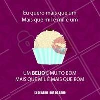 Quero 1, 2, 3...beijinho de coco para comemorar o dia do beijo! #beijo #diadobeijo #beijinho #doces #ahazoudoces #ahazou