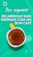 Está pronto para iniciar a semana? Recarregue as suas energias com um bom café! #ahrazou #cafe #semana #boasemana #diabom