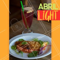 Que tal começar o mês com nossos pratos saudáveis? Venha correndo!🏃 #light #saude #saudavel #health #funcional #salada #salad #abril #april #ahazou #cardapiolight #vidafit #healthlife #healthy #saladino