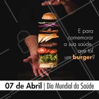 Bora comemorar essa data especial com a gente? 😋 #ahazoutaste #food #diamundialdasaude #vocetasaudavel