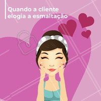 Eu amo! 😘 #clientes #ahazou #beleza #salaodebeleza #manicure #Unhas