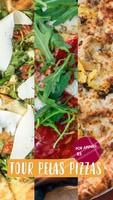 Mais uma promoção deliciosa aqui: Tour pelas pizzas.😋 São três opções de pizza que você pode escolher para saborear, feito com a massa fresca e saborosa que você já conhece. E tudo por um preço irresistível, rodízio por penas R$xx,xx. #ahazoutaste #pizza #food #delicia #desconto