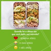 Quando foi? Conta aqui pra gente! 👇😋 #ahazoutaste #enquete #delicia #food