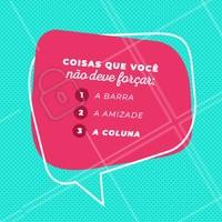 Jamais! 😂 #fisioterapia #coluna #ahazou #postura #engracado