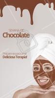 A Páscoa tá chegando! 🐰 Que tal comemorar fazendo uma sessão de chocolaterapia? Com alta capacidade de hidratação e reparação de tecidos, esse procedimento garante uma pele mais macia e revigorada. Agende seu horário! #chocolaterapia #ahazou #ahazouestetica #pascoa #estetica