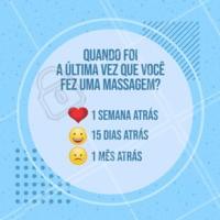 Quero saber! 😜 #massagem #ahazou #enquete