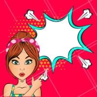 Utilize nosso editor para escrever na imagem! :)