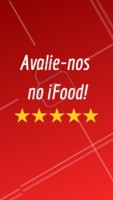 Podemos pedir 1 minuto de atenção? Bora avaliar nosso estabelecimento no iFood?  #ahazoutaste #food #ifood #delicia