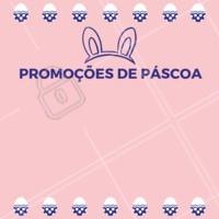 A Páscoa está chegando, e preparamos PROMOÇÕES especiais para você  aproveitar essa data especial, olha só! 🐰  #pascoa #promoçao #ahazou  #promocional #especial