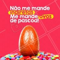 Sim, de preferência chocolate ao leite 🤣🤣 !🐰  #pascoa #ahazou #felizpascoa #ahzpascoa