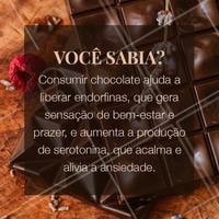 Lembre-se apenas de tomar cuidado para que o seu consumo não se torne uma compulsão, pois isso pode trazer mais prejuízos do que benefícios. Moderação é a palavra nesses casos. Dito isto, aproveite para saborear seu chocolate e Feliz Páscoa! #pascoa #chocolate #ahzpascoa #ahazou #vocesabia