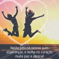 Páscoa é renovação. Aproveite a data e celebre da melhor maneira possível! #pascoa #ahazou #ahzpascoa #felizpascoa #frases