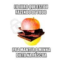 Quem aí está se esforçando também? 🤣🤣 #pascoa #ahzpascoa #ahazou #felizpascoa #dieta