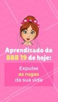 Olha o BBB fazendo a gente refletir 😂 #rugas #esteticafacial #ahazou #bbb #engracado
