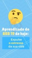 Olha o BBB fazendo a gente refletir 😂 #sobrancelha #ahazou #bbb #engracado