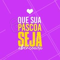 É o nosso desejo a você nosso cliente, FELIZ PÁSCOA! #pascoa #ahzpascoa #felizpascoa