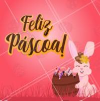 Receba nesta Páscoa: ovos de alegria, chocolates de harmonia, bombons de paz, pirulitos de amor, balas de felicidade e uma doce saúde. Feliz Páscoa! #ahazou #pascoa #felizpascoa #campanhabunny #ahazoupascoa 🐇🐇🐇