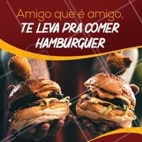 Hoje, 18 de abril, é o Dia do Amigo!   Marca aqui aquele amigo que está te devendo um rolê pra comeruns lanches! Bora celebrar essa amizade! :D #amigos #lanche #diadoamigo #ahazou #instafood #hamburguer