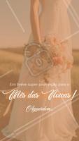 Fique de olho no nosso feed, em breve teremos promoções incríveis pra o mês das noivas! #promocao #ahazou #descontos #mesdasnoivas #maio