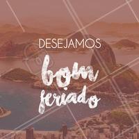 Aproveitaremos esses 5 dias de folga para nos reenergizar e voltar com força total! Desejamos a todos um ótimo feriado 🧘♀🧖♀ #feriado #feriadão #folga #páscoa #easter #sextafeirasanta #semanasanta #sãojorge #diadesãojorge #rio #+5521 #021 #rj #carioca #soudorio #riodejaneiro #cidademaravilhosa #bomferiado #ahazou #descanso #relax #reenergizar #calm #peace