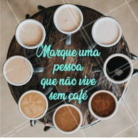 Marca ela aqui nos comentários! ☕️❤️ #cafe #ahazoutaste #cafeteria #cafes