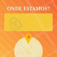 Use nosso editor para escrever a localização do seu negócio na imagem. :)