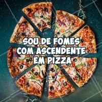 A astrologia não mente! 😂 #pizzaria #ahazoutaste #astrologia #pizza