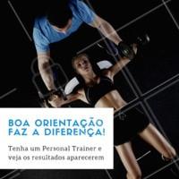 Só quem tem personal trainer sabe a diferença na hora dos resultados. Entre em contato para mais informações 📲 #fitness #ahazousaude