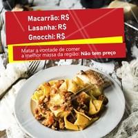 Quem concorda? 😍 #massas #ahazoutaste #comidaitaliana