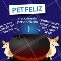 A melhor combinação pra deixar seu pet feliz 🐶🐱 #pet #ahazoupet #pets #caldeirao