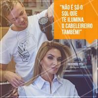 Quem concorda? 🌞🌞🌞 Bora iluminar suas lindas! #ilumiar #iluminada #morenailuminada #cabelos #cabelosfemininos #cabeleireiro #hair #hairdresser #hairstyle #haircut #colortrend #ahazou #braziliangal #perfectcolor #sunshine #sun