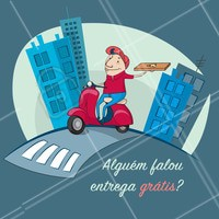 Aproveita e faça seu pedido! #gastronomia #ahazoutaste #comida #entregagratis #restaurante