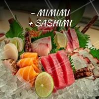 Lema pra levar pra vida! #comidajaponesa #ahazoutaste #sashimi