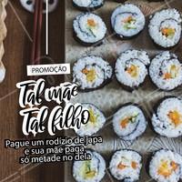 Traga sua mãe pra comer um japa nesse Dia das Mães! Ela merece. ❤️ #diadasmaes #ahazoutaste #comidajaponesa