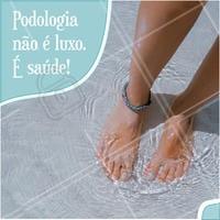 Vamos cuidar dos pés! Marque um atendimento conosco! #pés #podologia #ahazou #saúde
