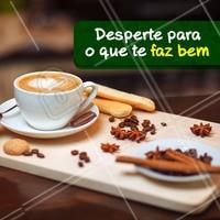 Bom dia! Tá na hora do café. ☕️ #cafe #ahazoutaste #coffee #bomdia
