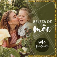 Presenteie sua mãe com beleza! Dê um vale presente. Você escolhe o serviço ou o valor 💆‍♀ #diadasmaes #mothersdayahz #promo #promocao #semanadasmaes #mothersday #mom #mommy #mae #presente #surpresa #beleza #ahazou #braziliangal #combo #beauty