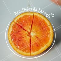 Além da famosa vitamina C, a laranja também contém fibras que aumentam seu valor nutritivo. O principal benefício da laranja são suas propriedades antioxidantes. #Saude #Ahazou #Laranja