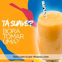 Laranjada? Saudável e cheia de vitamina D. Bora? #ahazou #suco #laranja #laranjada