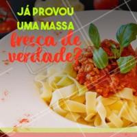 Depois que você prova uma vez, não tem nada igual! #massas #ahazoutaste #comidaitaliana