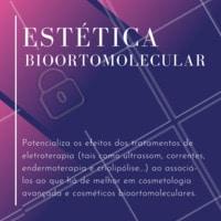 Você já conhece a Estética Bioortomolecular?  A tecnologia tem tudo a ver com estética. A aplicação dos conhecimentos bioortomoleculares são a prova disso! Cada vez mais, a beleza e o bem-estar podem se valer de técnicas integrativas, que buscam o equilíbrio das disfunções estéticas, emocionais e orgânicas. ➡️ SE INTERESSOU PELA NOVIDADE? ENTRE EM CONTATO PARA SABER MAIS.  #estetica #ahazouestetica #estetica #bioortomolecular
