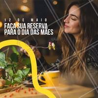 O dia das mães já está chegando! Prepare-se e agende sua reserva com antecedência. ☎️ #gastronomia #ahazoutaste #diadasmaes #reserva