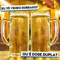 O MELHOR HAPPY HOUR É AQUI! 💥 🍻DOSE DUPLA DE CHOPP #dosedupla #dose #dupla #chopp #choppinho #chopes #happy #hour #happyhour #thebest #ahazou #breja #cerva #cerveja #danone #cheers