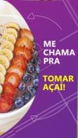 Me chama baby 😋 #ahazoutaste #food #acai #mechama
