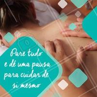 Precisa de uma pausa para relaxar? Faça uma boa massagem! 😉 #massagem #ahazou #relax #massoterapia