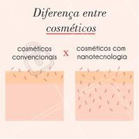 Você sabe qual a diferença entre os cosméticos? 🔹 Os cosméticos tradicionais atuam somente na epiderme, que é a camada mais superficial da pele. Isso faz com que os resultados sejam singelos,  superficiais, não obtendo uma nutrição e um estímulo adequado para tratarmos a disfunção, seja ela manchas, rugas ou flacidez.  Já a nanotecnologia penetra numa camada mais profunda da pele, a derme. 🔹 Outro ponto importante é o tipo de ativos que esses dermocosméticos possuem em sua composição. Eles são muito mais potentes que os presentes nos cosméticos tradicionais. #dermocosmeticos #ahazou #esteticafacial #peleperfeita