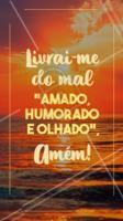 Amem! 🙏 #frase #motivacional #ahazou #protecao #positividade