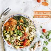 E ai? O que você tem colocado para dentro do seu corpo, sua mente e seus sentidos? Perceba-se e mude, se necessário.  De nada adianta praticar exercícios físicos regularmente se você não prestar atenção no que coloca no prato. Para manter a saúde em dia, é importante buscar uma alimentação equilibrada, que tenha pelo menos, cinco porções de legumes, verduras e frutas todos os dias. Tente comer menos gordura e controlar suas porções de açúcar e sal.  Cuide-se. Viva mais e bem!  #saude #vidasaudavel #ahazou #alimentação